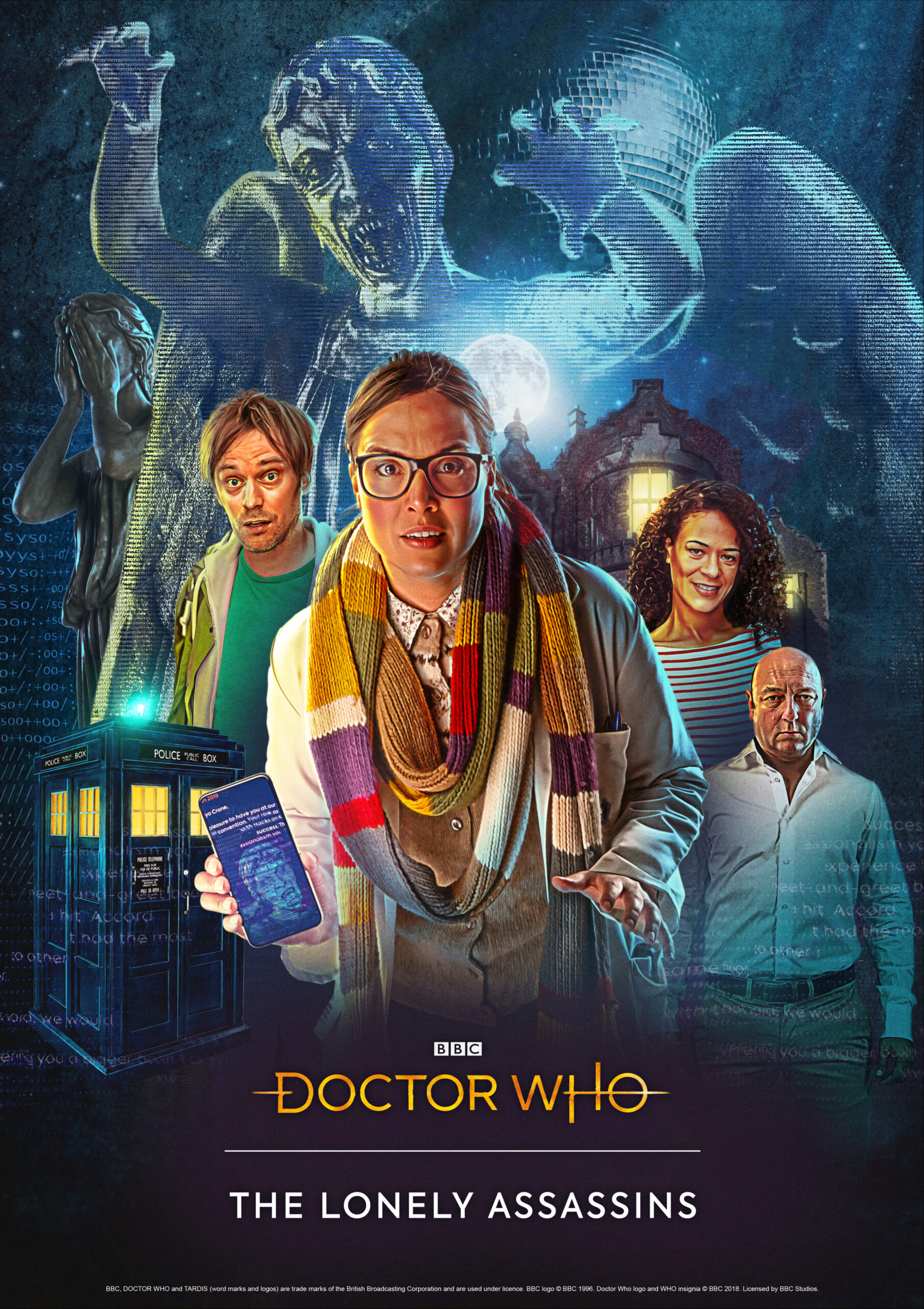 Doctor Who_ The Lonely Assassins – poster by Lee Binding