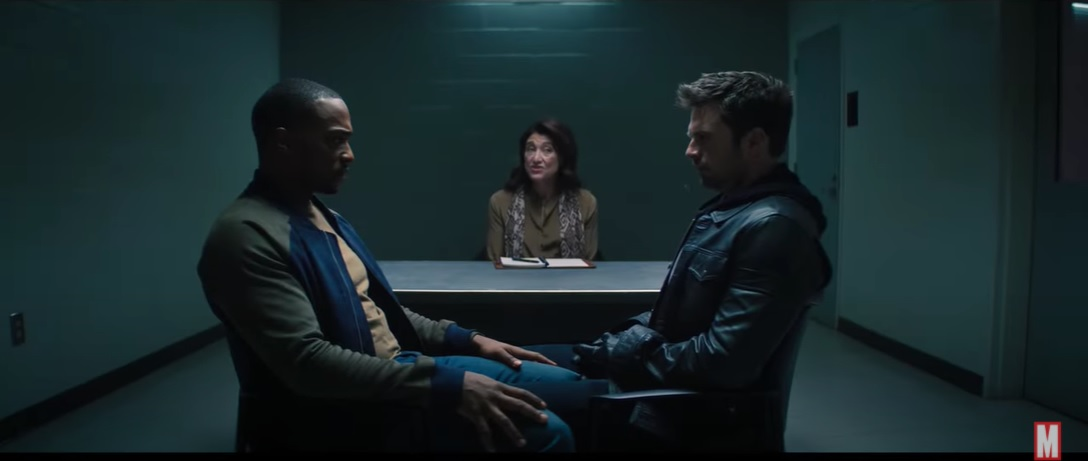 Falcon and the Winter Soldier couples therapy