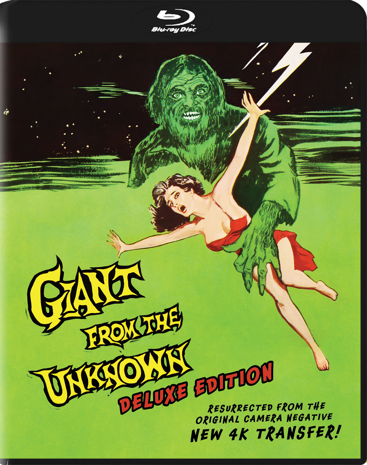 Giant From the Unknown Blu-ray BOX ART