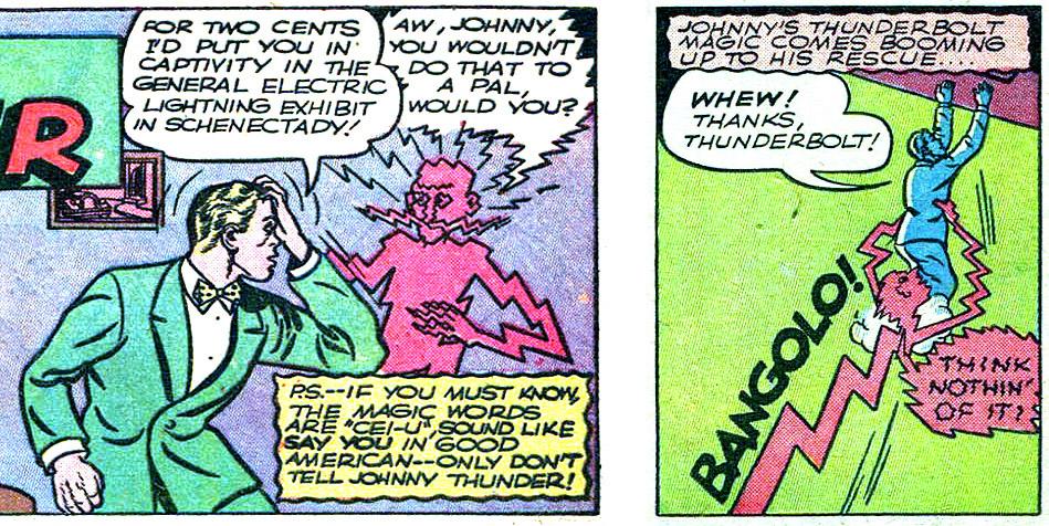 Johnny Thunder Flash Comics 18