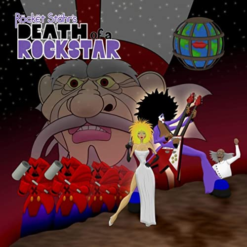 death of a rockstar album cover